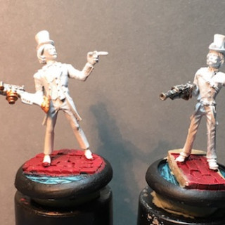 Lady Ellendeanne and some Distant Relatives Work in Progress