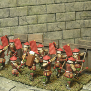 Finished my advancing archers.
