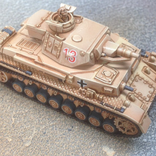 Panzer IV progress report