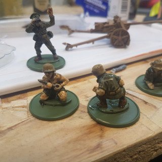Bolt Action Soldiers Show Their Colours