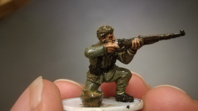 Market Garden, Cadet bolt action introduction