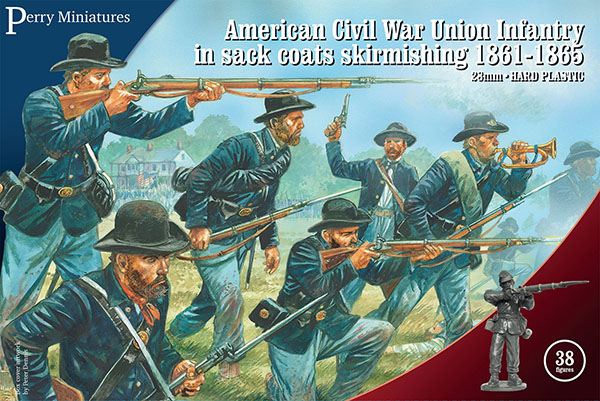 American-Civil-War-Union-Infantry-Sack-Coats-Skirmishing-Perry-Miniatures