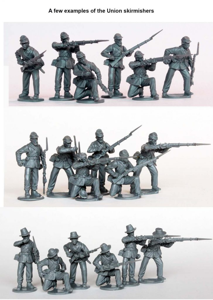 American Civil War Union Infantry Skirmishers - Perry Miniatures