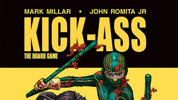 CMON's New Board Game Kickass: The Board Game Release The End Of September!