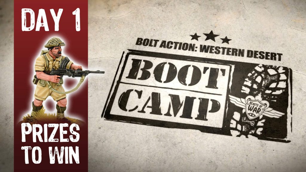 Bolt Action Boot Camp Day 1 Friday - Cover