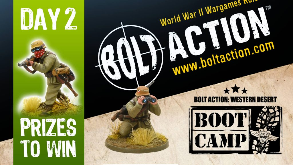 Bolt Action Boot Camp Day 2 Saturday COVER