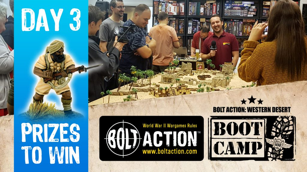 Bolt Action Boot Camp Day 3 Sunday COVER