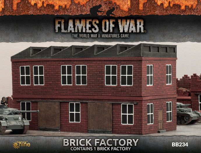 Brick Factory - Flames Of War