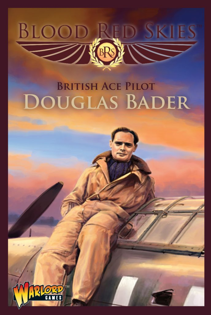 British Ace Pilot Douglas Badger - Blood Red Skies