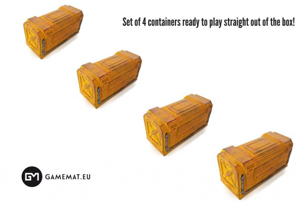 Chem-Zone Container Set - GameMatEu