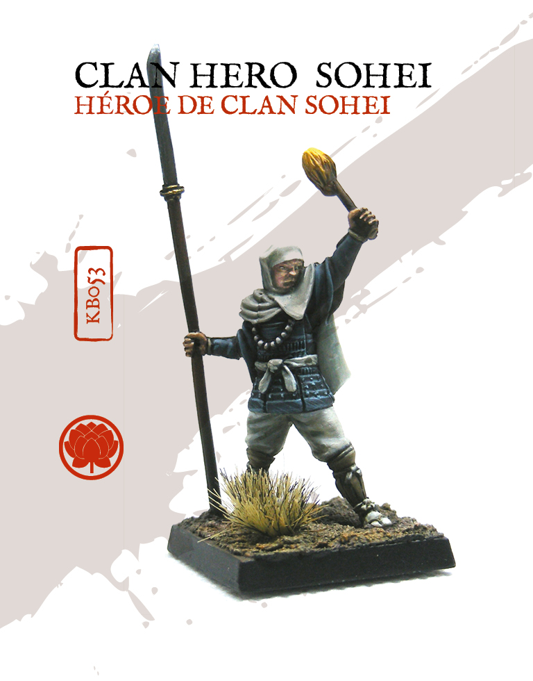 Clan Hero Sohei - Zenit Miniatures