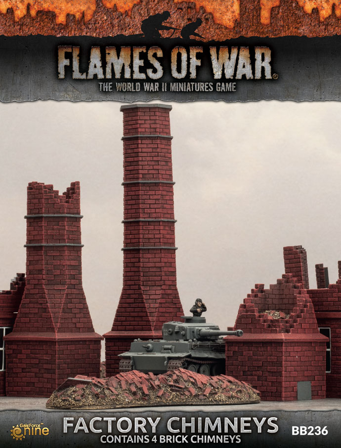Factory Chimneys - Flames Of War