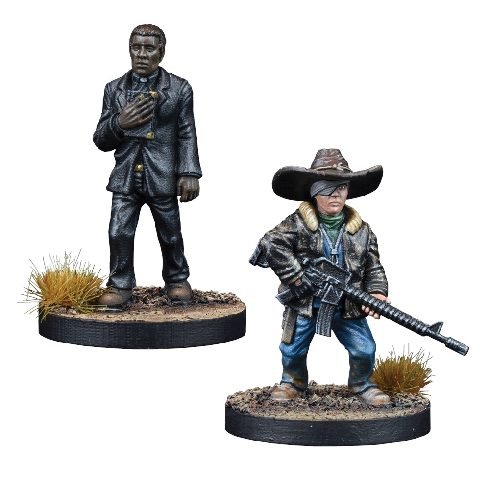 Father Gabriel & Carl Grimes - Mantic Games