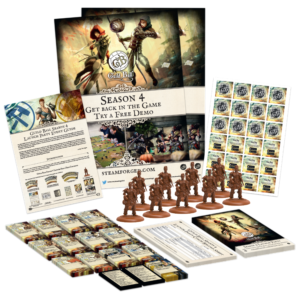 Guild Ball Season 4 Promo Pack - Steamforged Games
