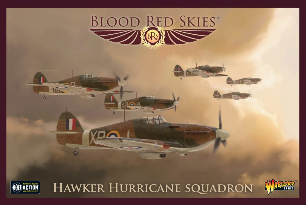 Hawker Hurricane Squadron - Blood Red Skies