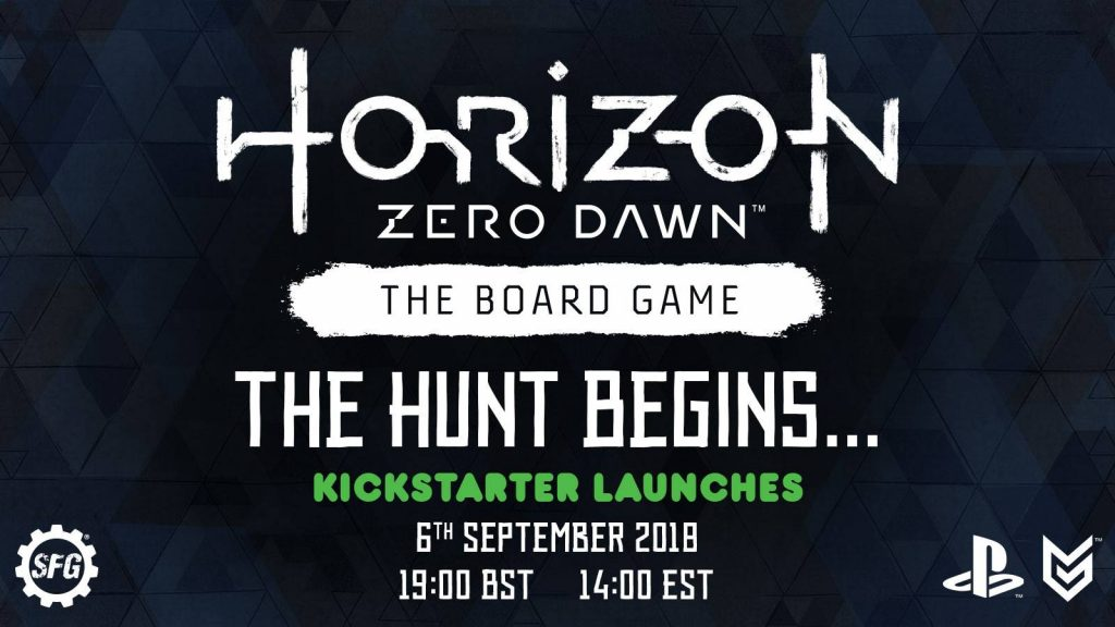 Horizon Zero Dawn The Board Game - Steamforged Games