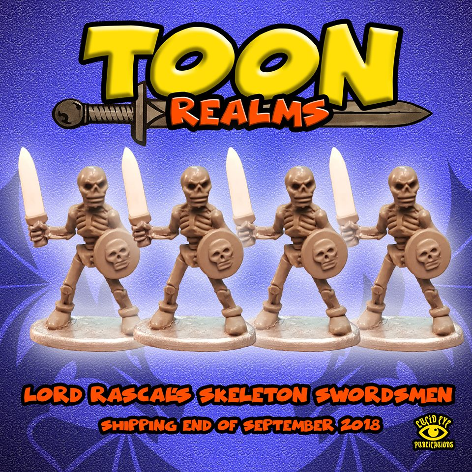 Lord Rascal's Skeleton Swordsmen - Lucid Eye