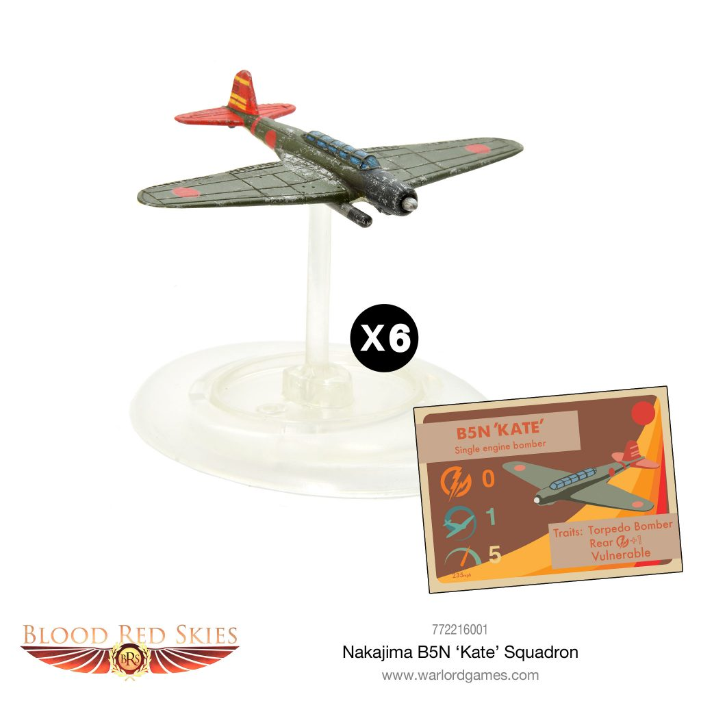 Nakajima B5N Kate Squadron - Blood Red Skies