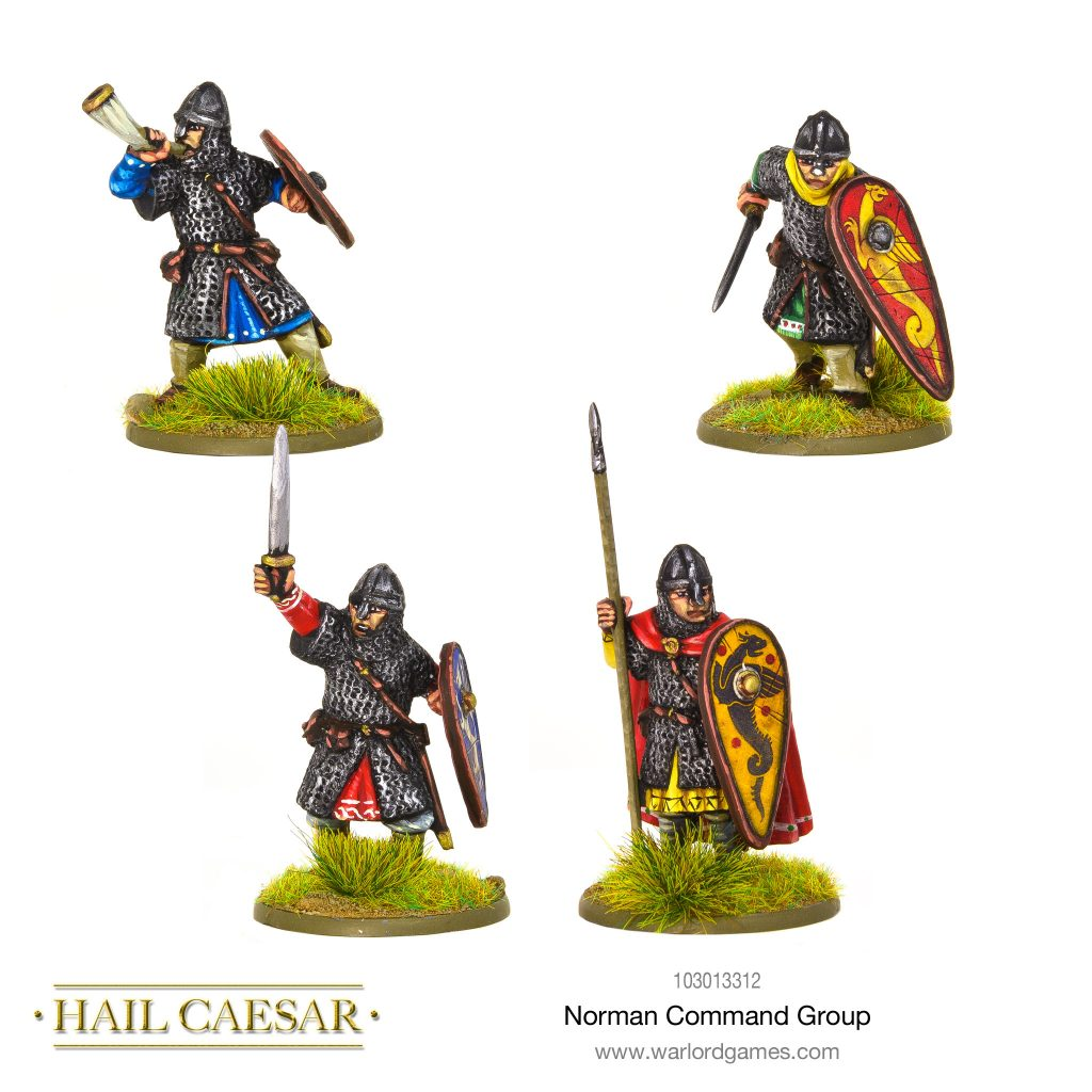 Norman Command Group - Warlord Games