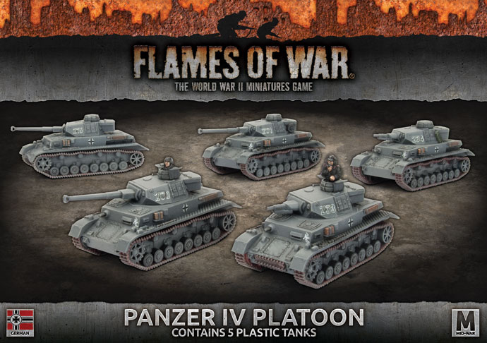 Panzer IV Platoon - Flames Of War