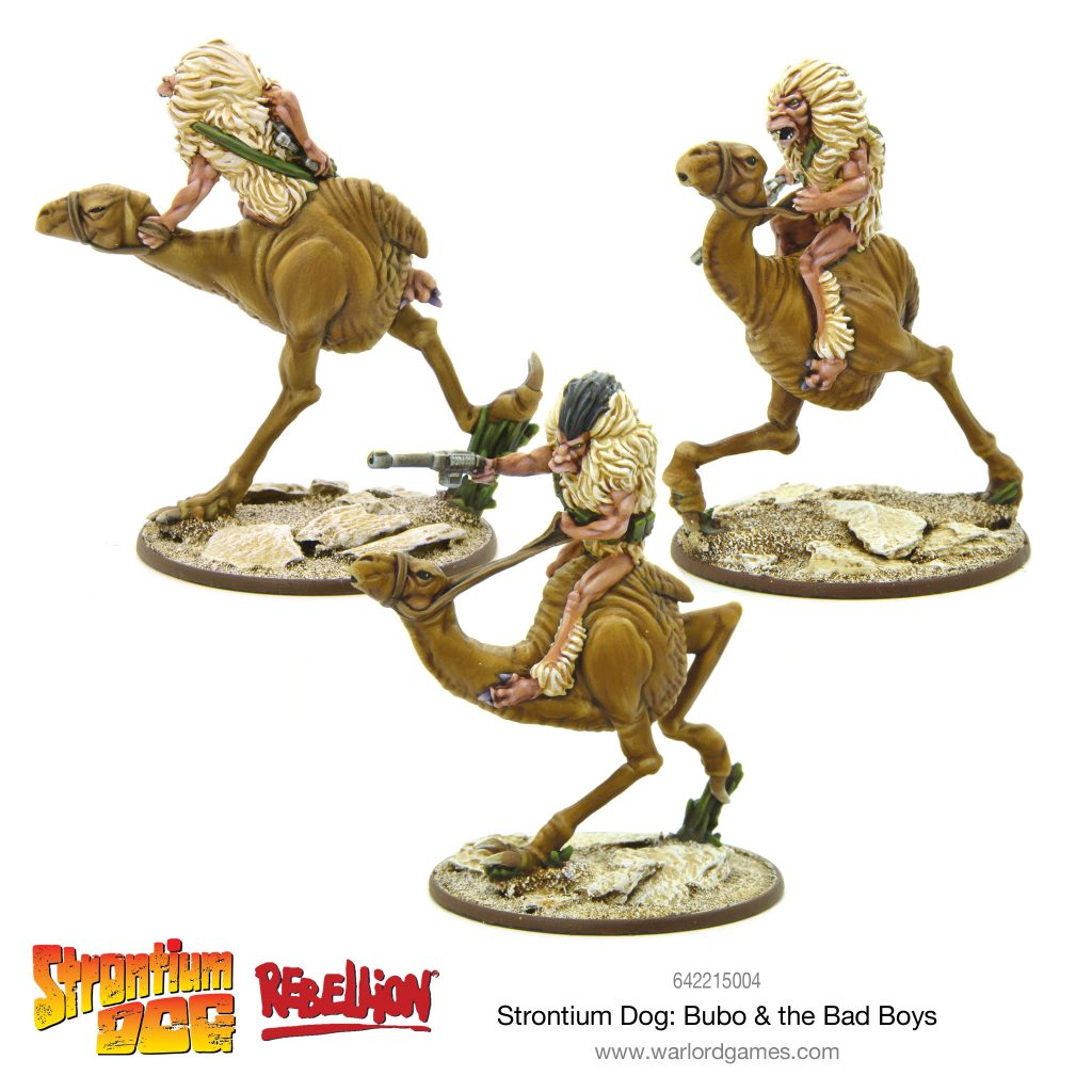 Strontium Dog Bubo & The Bad Boys - Warlord Games