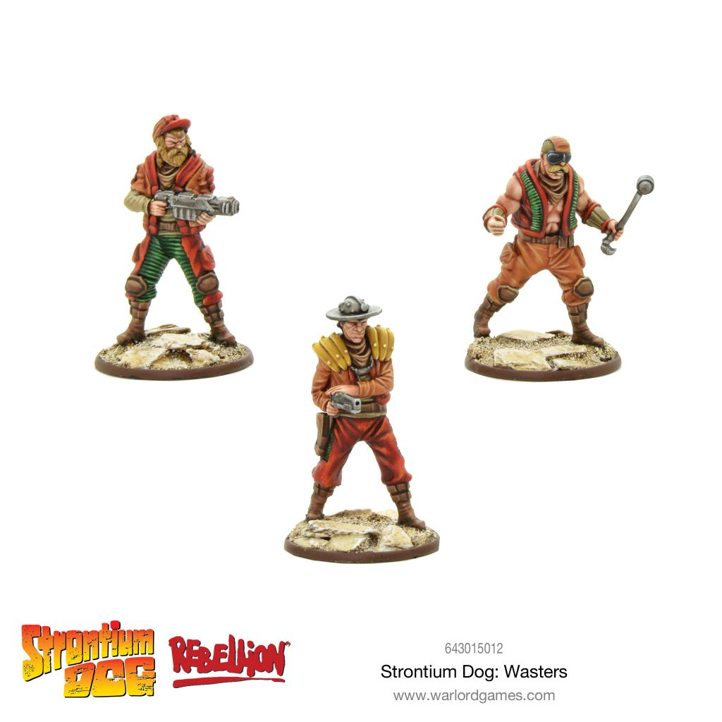Strontium Dog Wasters - Warlord Games