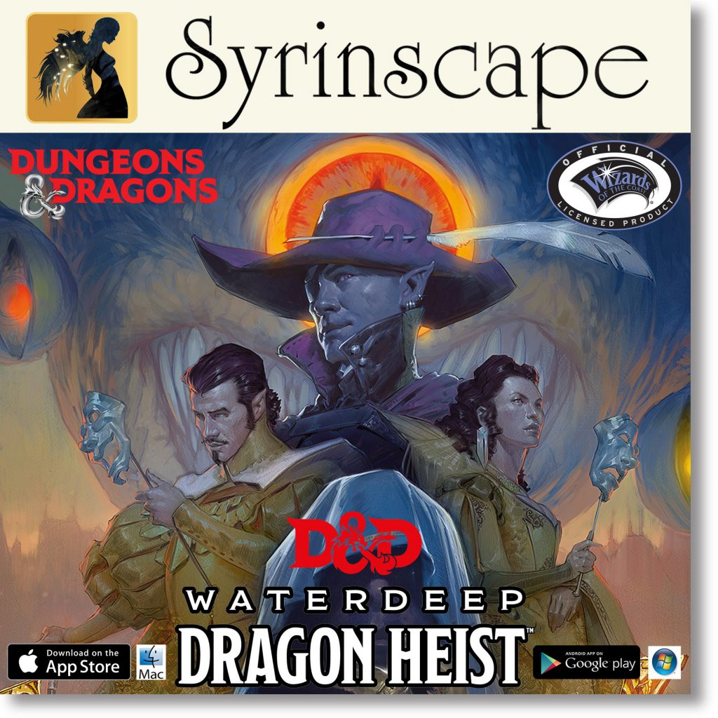 Syrinscape Dungeons & Dragons Waterdeep Soundtrack