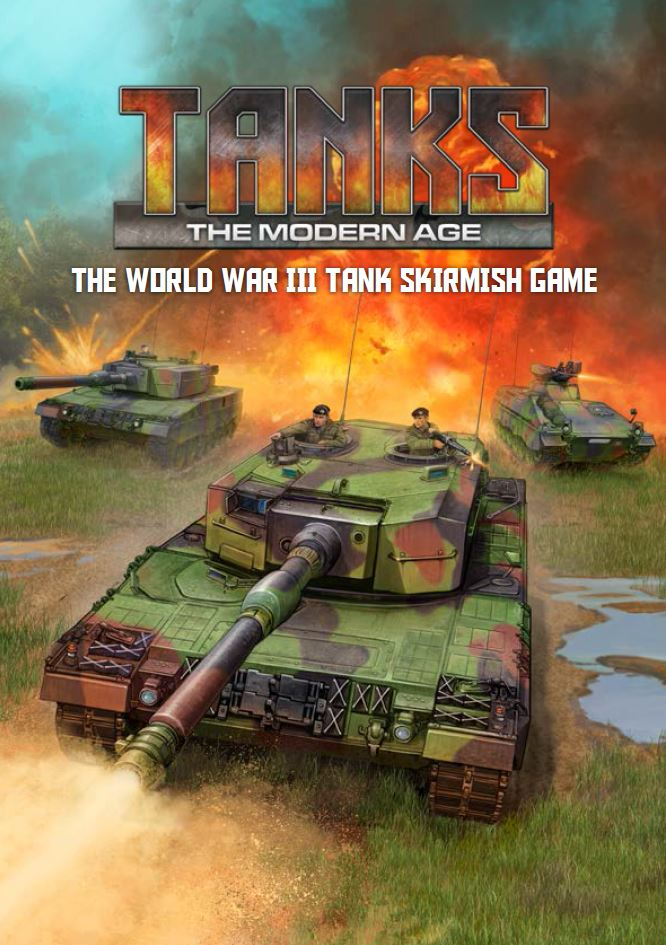 Tanks Modern Age Rulebook - Gale Force Nine