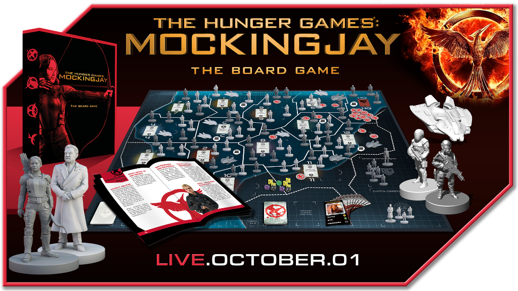 The Hunger Games Mockingjay The Board Game - River Horse