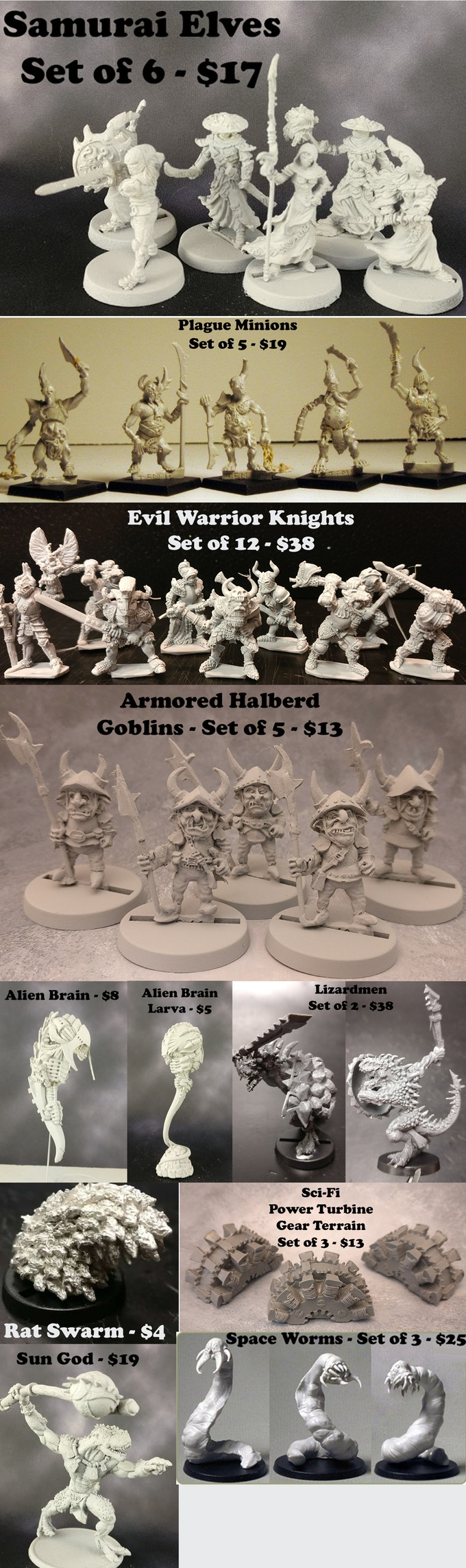 The Lost Minis #2 - Impact Miniatures