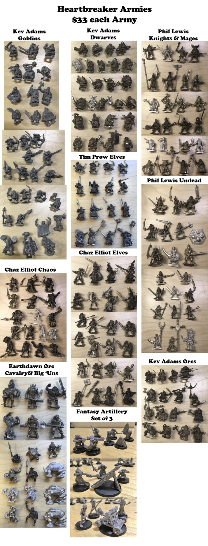 The Lost Minis #3 - Impact Miniatures