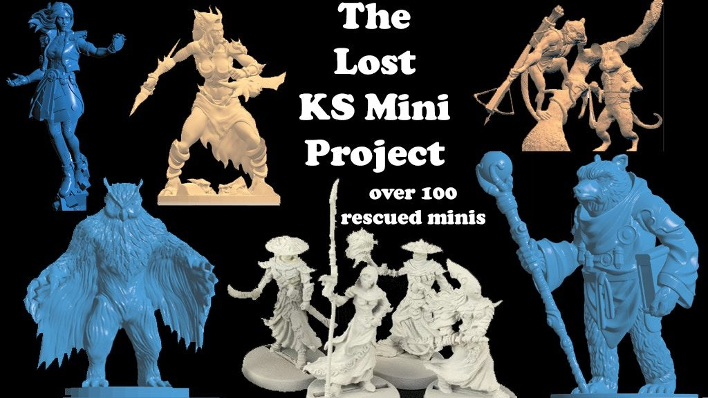 The Lost Minis - Impact Miniatures