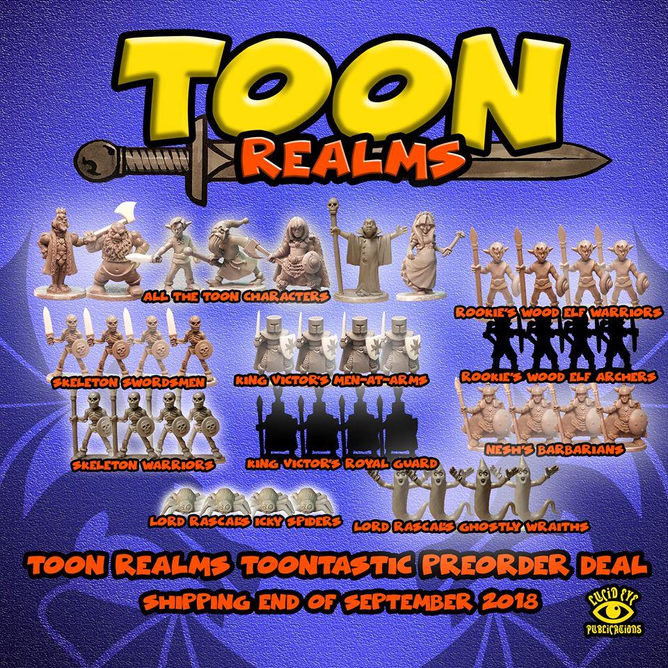 Toon Realms Range - Lucid Eye