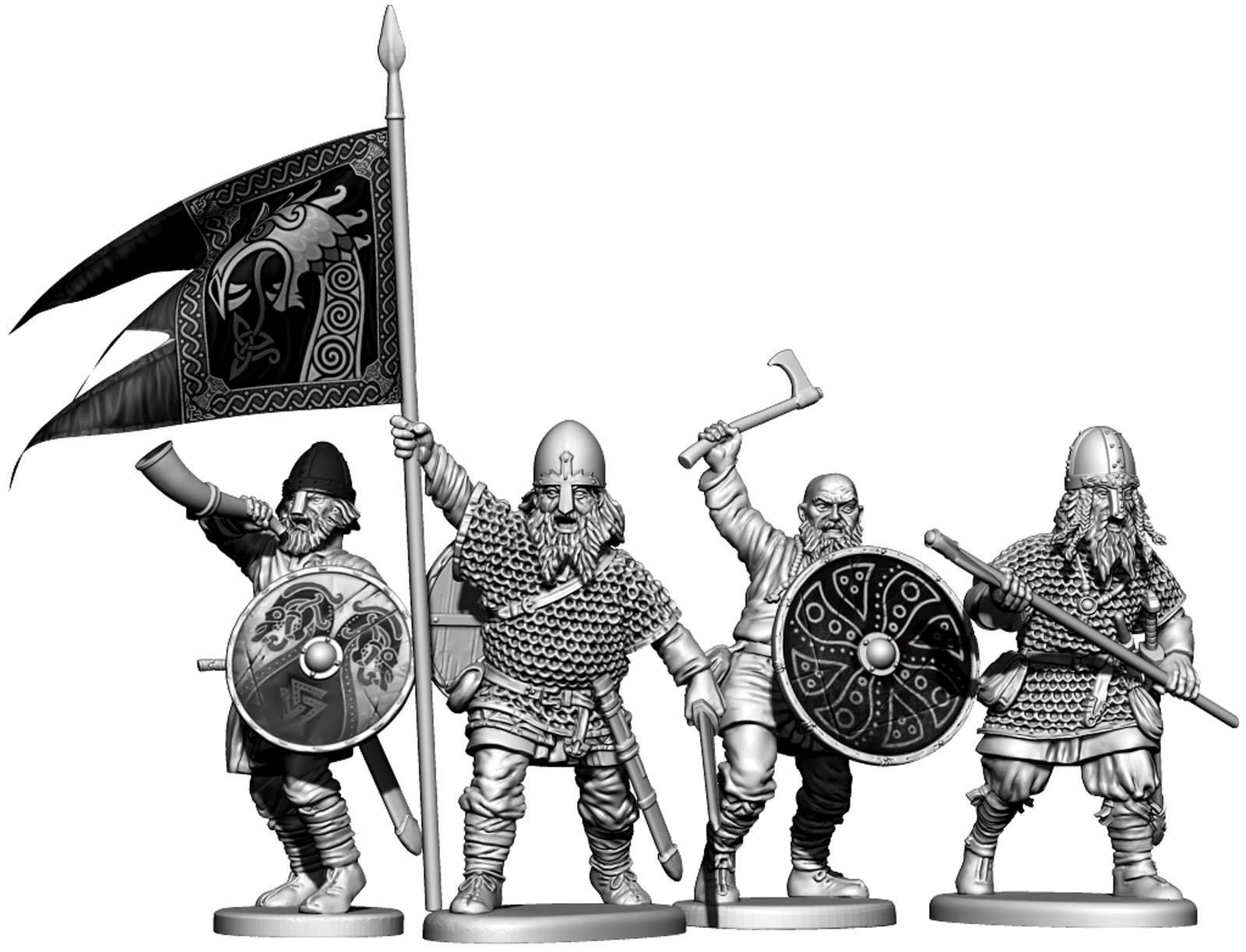 Victrix Shows Off Final Preview Of Angry Plastic Vikings