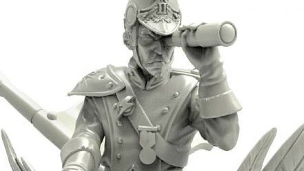 Durgin Paint Forge Goes Scouting With A Bluecoat Pathfinder