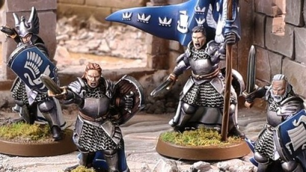 Forge World's Knights Of Dol Amroth Battle Sauron's Forces