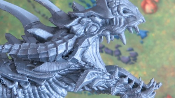 Legends Of Signum's Dragon Takes Shape In Test Prints