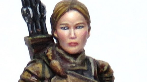 River Horse Preview Katniss & Snow From New Hunger Games Board Game