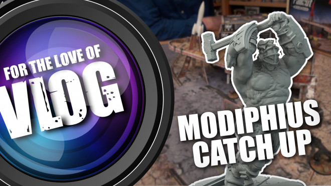 VLOG: Catch Up with Modiphius