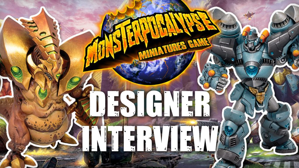 Chatting Up Giant Ninjas and Dinosaurs for Monsterpocalypse