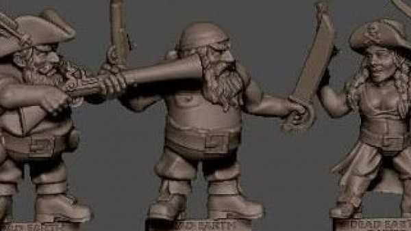 Strike your Dwarven Colours with Pirates of the Undead Sea, Now on Kickstarter!