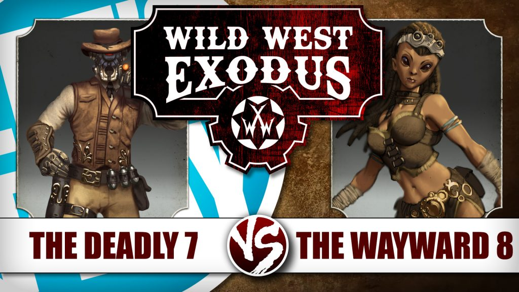 Let's Play: Wild West Exodus - The Wayward 8 Vs The Deadly 7