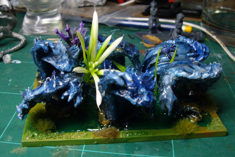 Finished Water Elementals