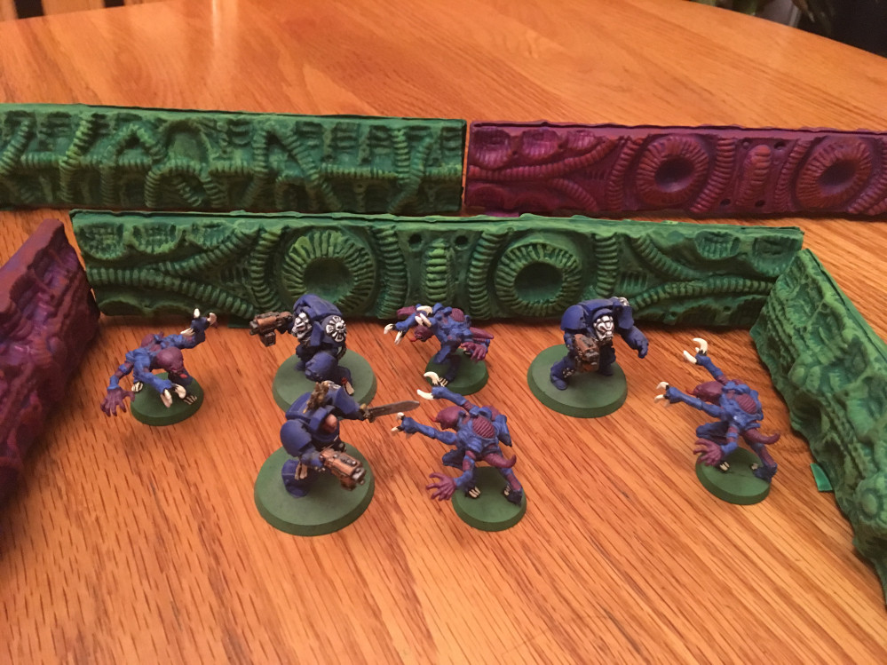 Space Hulk Wild Walls Alien Habitats