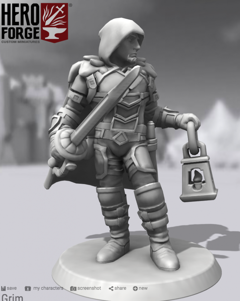 From heroforge