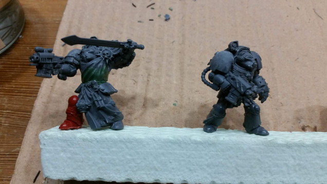 The sergeant, the two other Terminators...