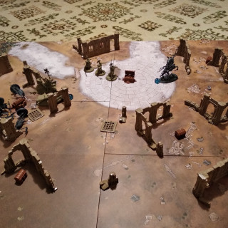 More terrain and objectives