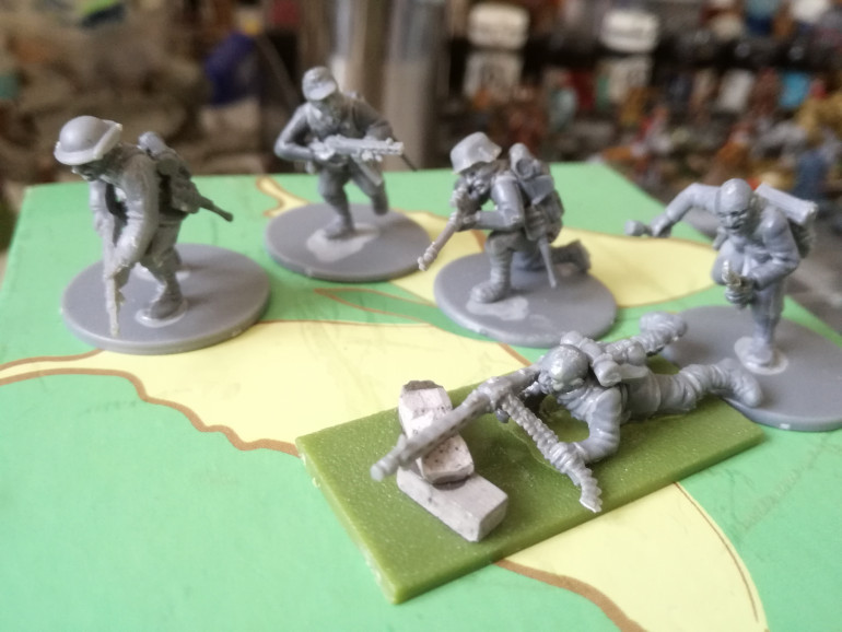 First Chinese Infantry conversions