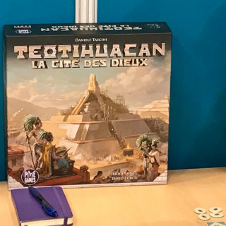 NSKN Games Build A Mighty Pyramid With Teotihuacan + WIN Mistfall: Chronicles Of Frost And All That Burns