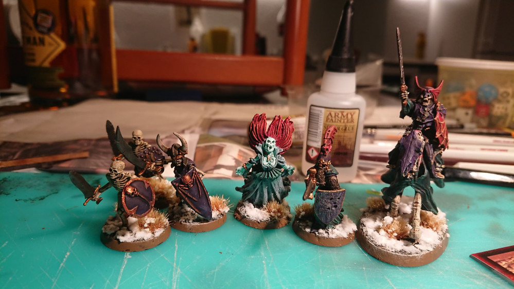 Age of Sigmar skirmish warband  Death – OnTableTop – Home of Beasts